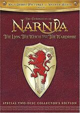 Chronicles of Narnia - The Lion, the Witch and the Wardrobe 2-Disc DVD New