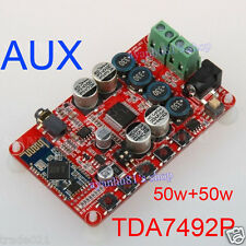 TDA7492P 50W*2 Wireless Bluetooth 4.0 Audio Receiver Digital Amplifier Board AUX