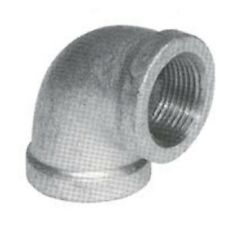 NEW B&K 4 INCH GALVANIZED PIPE THREADED 90° ELBOW FITTING PLUMBING 8450306