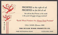 1941 THE EUCLID WOOD PRODUCTS CO CLEVELAND OH