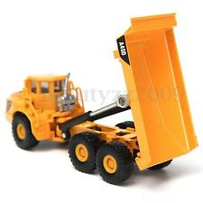 1:87 Scale Alloy Tipping Truck Construction Vehicle Cars Lorry Model Toys Gifts