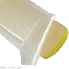 CRICKET BAT ANTI SCUFF PROTECTION FIBRE TAPE SHEET 30cm X 15cm