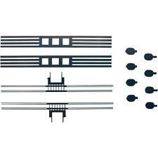 Schleifkontakte - sicheren Stromübertragung vom Gleis aufs Rad   // Spur H0