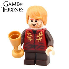 TV Game of Thrones Tyrion Lannister with Wine Glass Minifigures Xmas Toys Gifts