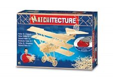 Matchitecture 6610 Fokker Dr1Triplane Matchstick Model Kit Free Tracked 48 Post