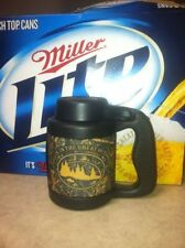 Can Stein, Drink Insulator, Thermal Cup & Lid, PINK Camo, Beer Fishing Accessory
