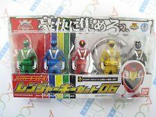 Power Ranger Kaizoku Sentai Gokaiger Ranger Key Series Set 06 Bandai Japan