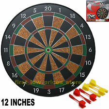 SAFE MAGNETIC DART BOARD DARTBOARD GAME INCLUDES 6 DARTS NEW IN BOX
