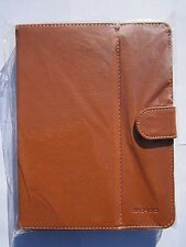 """Brown Leather Multi Angle Stand Case 4 Archos Arnova 8G2 8 G2 8"""" Android Tablet"""