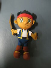 "Disney Talking 12"" Jake and the Neverland Pirates Stuffed Plush With Sword  1+"