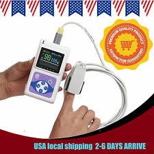 CONTEC SPO2 RECORD PULSE OXIMETER FINGERTIP OLED DISPLAY + PC SOFTWARE CMS60D
