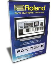 Roland Fantom-X DVD Video Training Tutorial X6 X7 X8