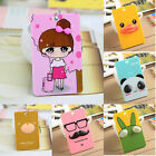 1Cartoon Business ID Credit Card Wallet Holder Pocket Case Keychain Key Ring Hot
