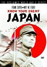 KNOW YOUR ENEMY JAPAN FRANK CAPRA WHY WE FIGHT! DOCUMENTARY REGION FREE DVD NEW