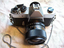 YASHICA TL-E WITH ACCURA DIAMATIC F 2.8 LENS + MORE