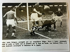 photo press football  Italie-Hongrie 1938    172