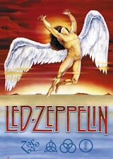 LED ZEPPELIN SWAN SONG RECORD LABEL LOGO POSTER PRINT 24x36 NEW FAST FREE SHIP