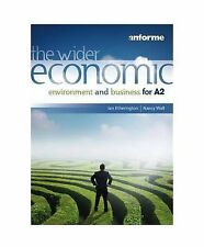 The Wider Economic Environment and Business for A2, Etherington, Ian, Very Good,