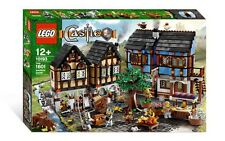 BRAND NEW, RARE, SEALED LEGO CASTLE # 10193 MEDIEVAL MARKET  VILLAGE, FAST SHIP!