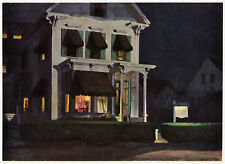 Rooms for Tourists, Edward Hopper, 1945 vintage print