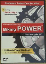 Biking Power DVD Video Resistance Trainer Exercise Workout Indoor Cycling