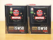 6,95€/l Motul Classic Motor Oil SAE15W-50   2 x  2 ltr