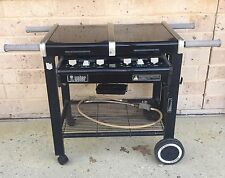 Natural Gas Weber crossover flat top BBQ