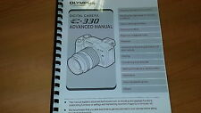 OLYMPUS E-330 DIGITAL CAMERA PRINTED INSTRUCTION MANUAL USER GUIDE 196 PAGES A5