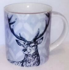 Deer Mug Buck Wildlife Hunter Coffee Cup Mens New Gift Queens 3 1/2 Inches