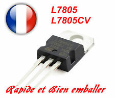 Régulateurs de Tension +5V ST L7805 L7805CV TO220