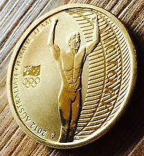 AUSTRALIAN Olympic Team $1 One Dollar Coin 2012 Uncirculated One Dollar Coin