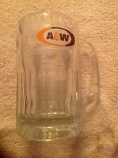 "VINTAGE 1960-70's A&W ROOT BEER 6"" GLASS MUG ROOT BEER FLOAT"