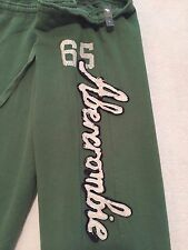 Abercrombie & Fitch Women's Cropped Capri Soft Sweats Size L Large NWT   A&F
