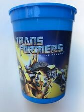 TRANSFORMERS 12oz Plastic Tumblers Optimus Prime Bumble Bee Party Favor NEW