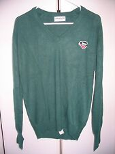 Vintage Skoal Bandit Racing sweater long sleeve shirt 1980's Green Large Men's M