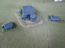 Flames of war / ww2  - Bunkers 15mm - well painted