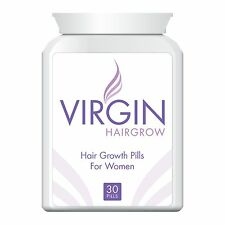 VIRGIN FOR WOMEN HAIRLOSS PILLS TABLETS HAIR RE-GROWTH GROW LONG HAIR FAST