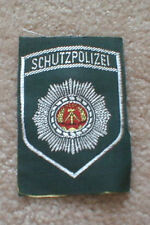 Obsolete  East German (D.D.R.) POLICE patch