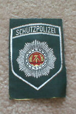 Obsolete> East German (D.D.R.) POLICE patch