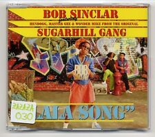 Bob Sinclar Maxi-CD Lala Song - 2-track incl. Video - sugarhill gang related