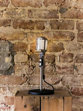 Vintage-Styled Shure Fat Boy S55 LED Microphone Lamp
