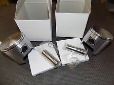 "1985-1995 Ski-doo 440 Formula MX XTC ST X LT MX-Z Summit Piston KITS x2_.02"" os"