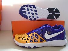 New Nike Train Speed 4 Amp LSU Tigers training Shoes sz 10