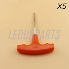 5PCS Torx T27 Screwdriver WT T-Shape Handle Fit Stihl Makita # 0812 370 1000 New
