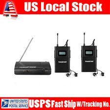 Takstar WPM-200 UHF Wireless recorder Monitor System 1 transmitter+2 receivers
