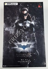 Square-Enix Play Arts Kai Dark Knight Rises Catwoman Action Figure New Sealed