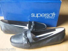 womens DIANA FERRARI supersoft loafer black leather shoes SZ 10 C NEW! $119.95!
