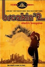 Electric Boogaloo Breakin' 2 (DVD, 2002) RARE 1984 MUSICAL MINT DISC
