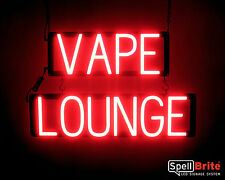 SpellBrite Ultra-Bright VAPE LOUNGE Sign Neon-LED Sign Neon look, LED power