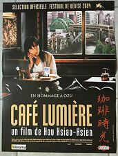 Affiche CAFE LUMIERE Hsiao-hsien Hou YO HITOTO 40x60cm *